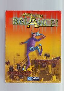KEEP-THE-BALANCE-FUN-2000-PUZZLE-PC-GAME-FAST-POST-ORIGINAL-RARE-BIG-BOX
