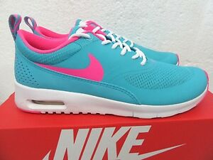 c33578acf5 $85.00 Nike Air Max Thea (GS) Shoes Blue Pink White 814444, 5.5 Y ...
