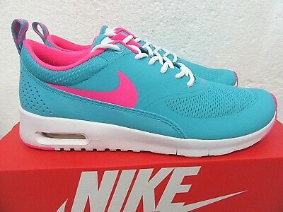 Details about NIKE AIR MAX THEA GS=womens RUNNING walking WOLF GREYHYPER PINK 814444 002