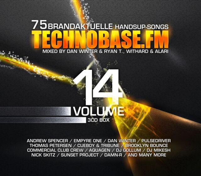 CD TechnoBase.FM Vol.14 von Various Artists  3CDs