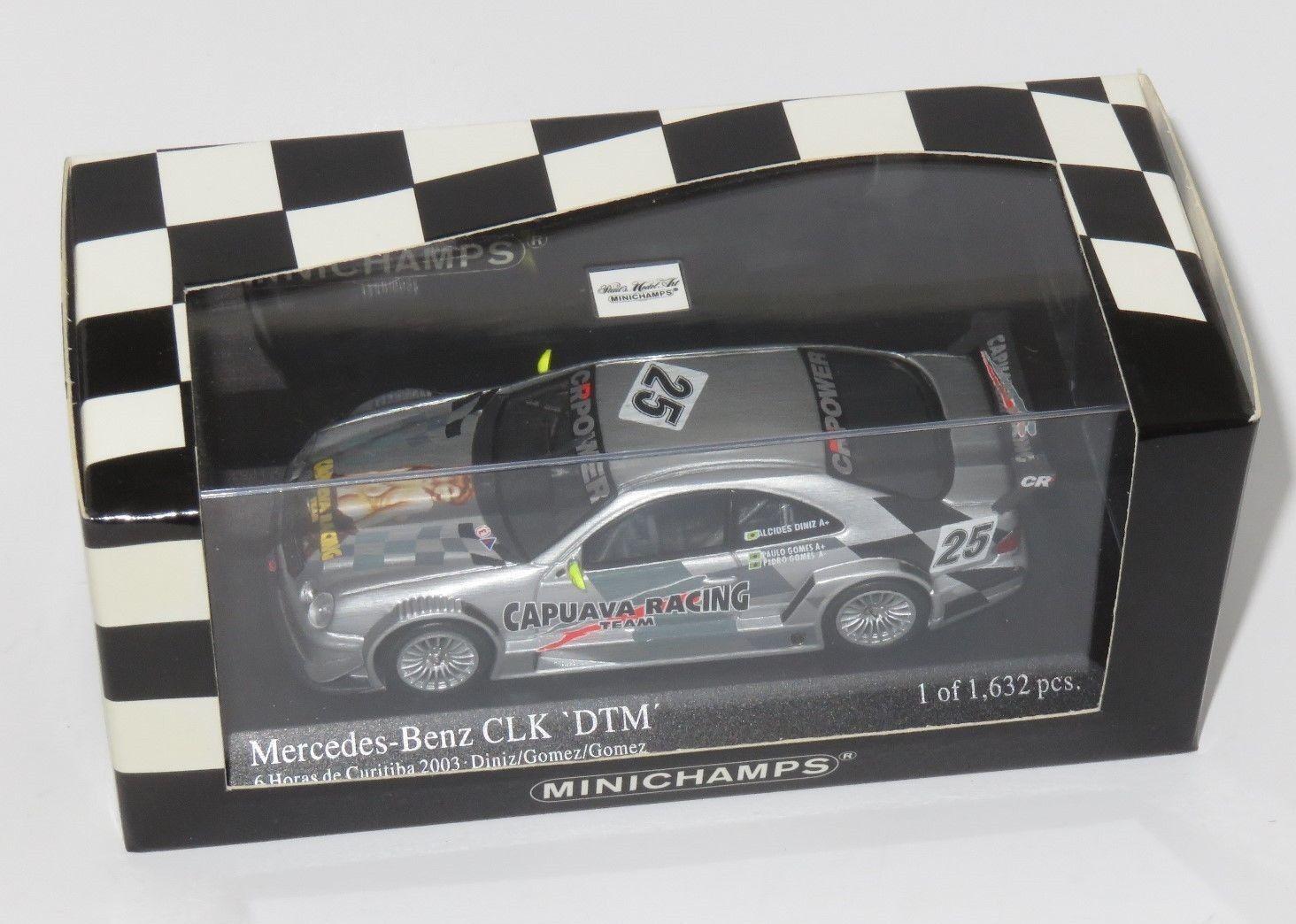 1 43 Mercedes Benz CLK DTM  6 Hrs Curitiba 2003  Capuava Racing  Diniz Gomez