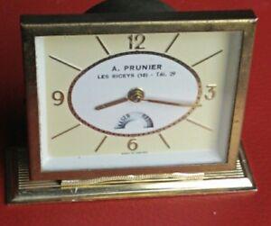 Table-Clock-Advertising-Radiola-A-prunier-Circa-1950