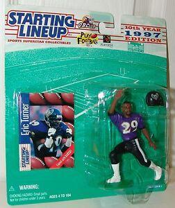 NFL-Starting-Lineup-Eric-Turner-Baltimore-Ravens-Football-1997-Sports-Figure