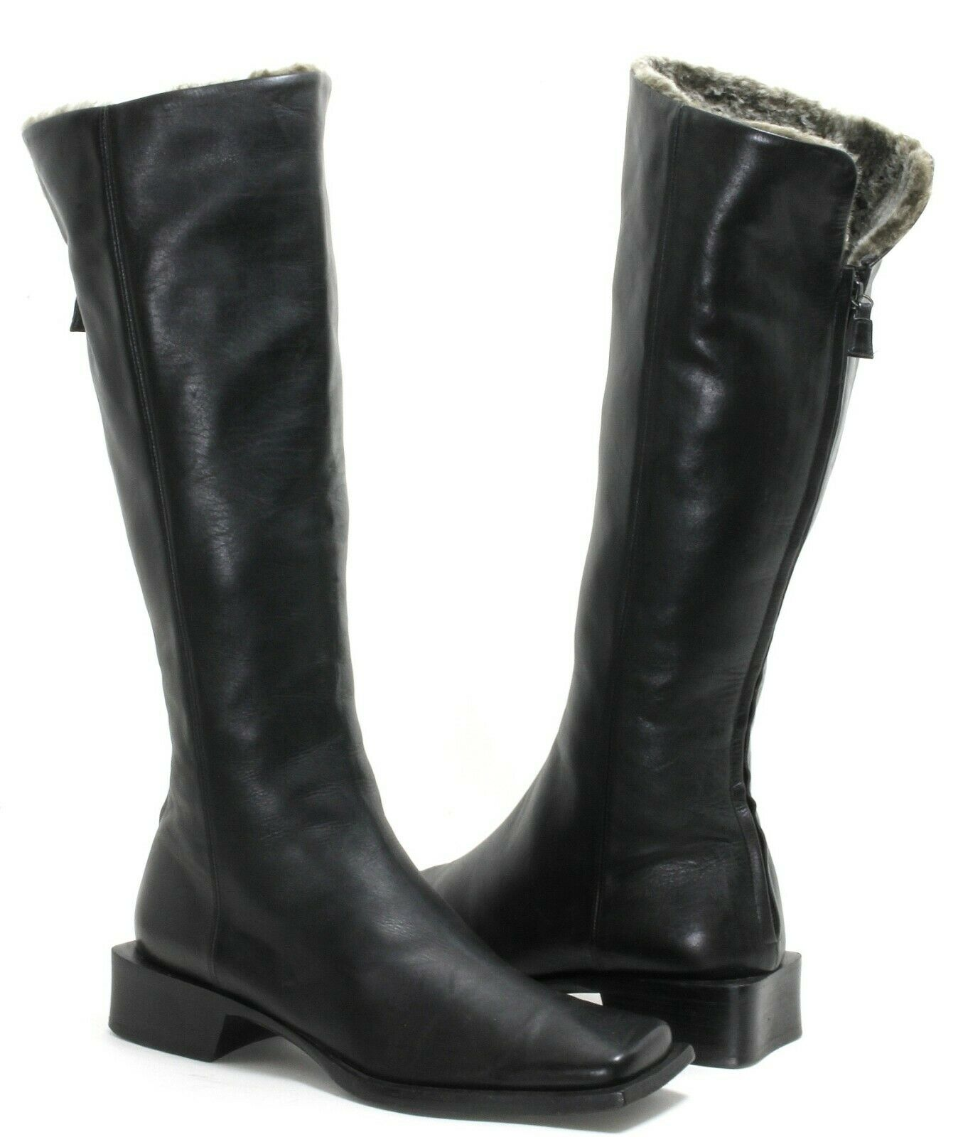 Damenstiefel Stiefel Vintage Stiefel Winterstiefel Winter Schuhe Pollini 36