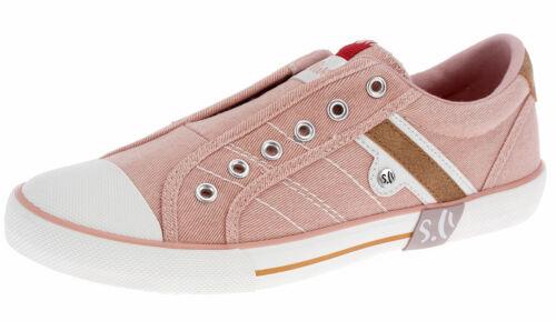 s.Oliver Damen Mädchen Sneaker Low-Top Slipper Gummizug Freizeitschuhe 43205