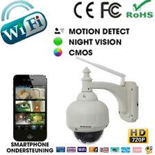 HD 720P OUTDOOR WIFI WIRELESS CCTV IP CAMERA 3X Optical Zoom IR CUT Pan/Tilt New