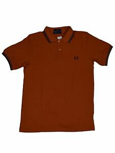 Made England Hemd 448 In Perry 5376 Polo Orange Fred Schwarz M12 x7n0Izqz