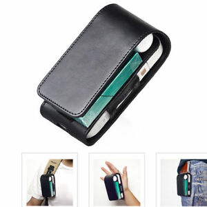 Electronic-Cigarette-Black-PU-Leather-Pouch-Bag-Case-Box-Holder-Storage-For-iQOS