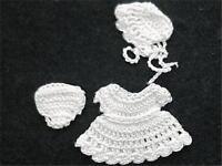 Dollhouse Baby Doll's Dress Outfit Hoxz854 Heidi Ott All White 1:12 Gemjane