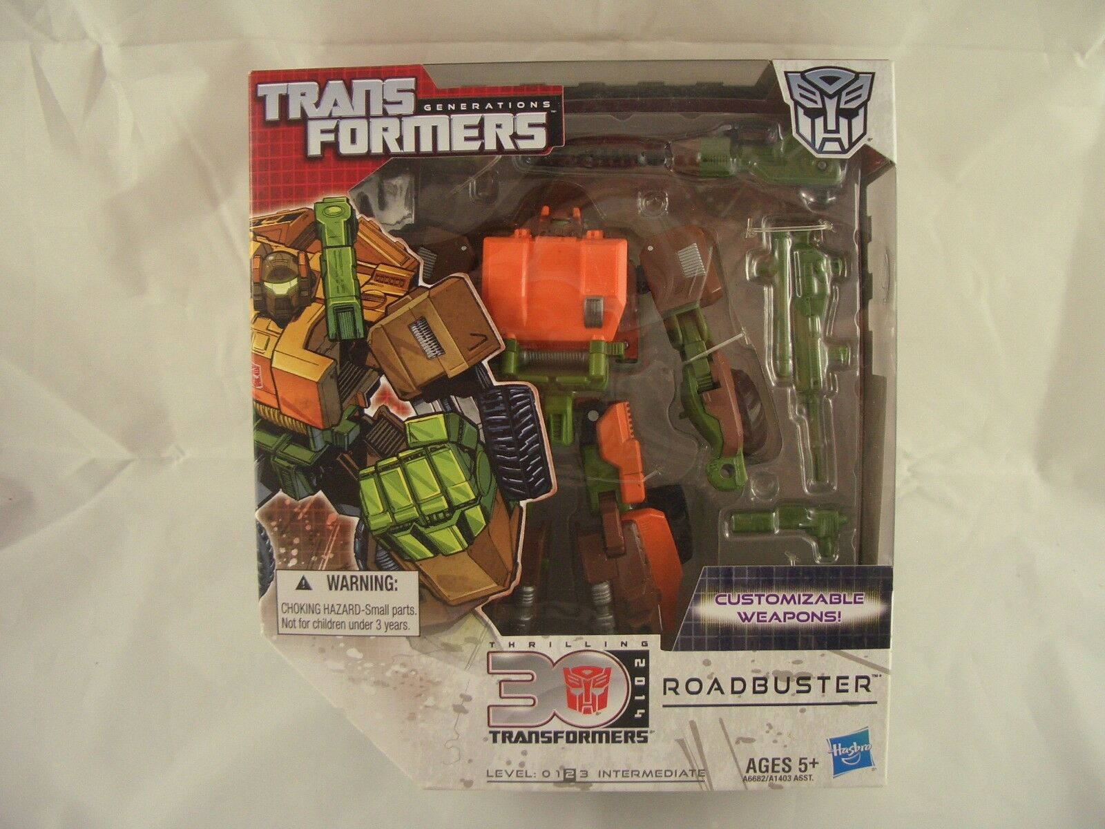 Transformers Generations 30th Anniversary Roadbuster Voyager Class Action Figure