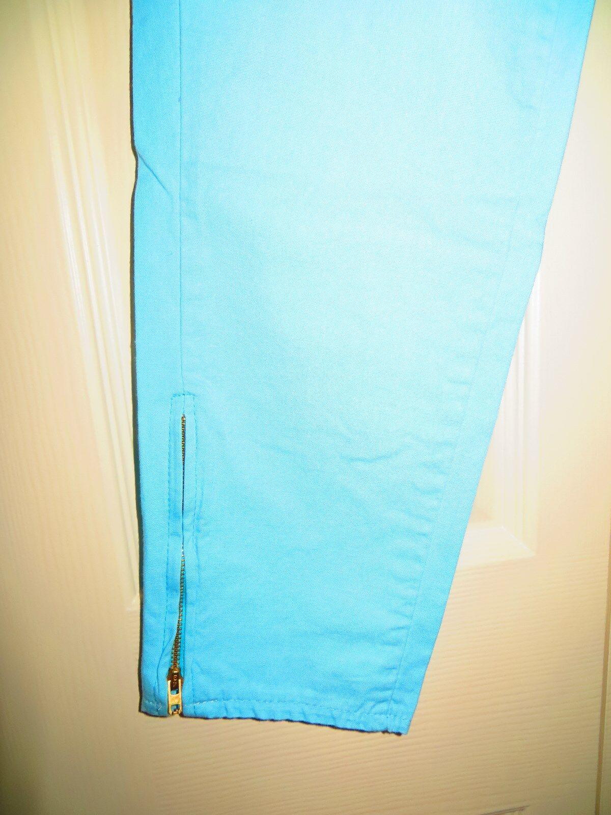 womans skinny jeans pants blue cotton 31/28 Chemi… - image 8