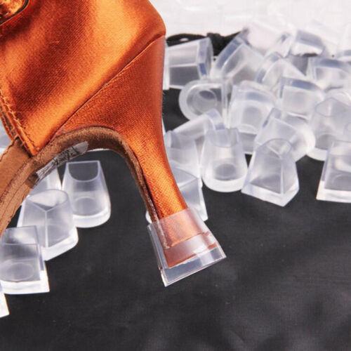Stiletto High Heel Protectors Clear Medium Fits 8-11mm Heel Wedding Mates v