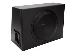 new rockford fosgate p300 12 12 300 watt single powered. Black Bedroom Furniture Sets. Home Design Ideas