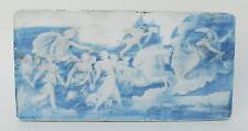 Plaque porcelaine decor mythologique signée E Chabrol  limoges ? XIX °