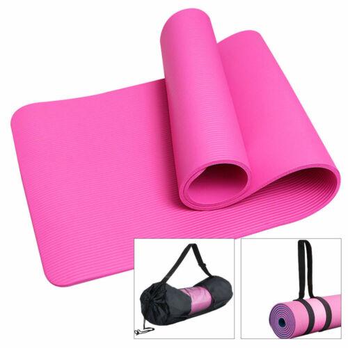 Netztasche Riemen Rosa Yogamatte Fitnessmatte Gymnastikmatte Sportmatte