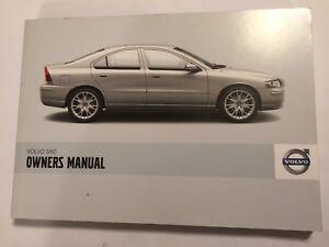 volvo s60 owners manual drivers handbook 2008 petrol diesel turbo bi rh ebay co uk 2008 volvo s60 owners manual 2008 volvo s60 2.5t owners manual