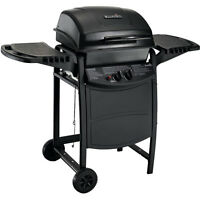 Charbroil 2-Burner Gas Grill with Grill Cover (Black)
