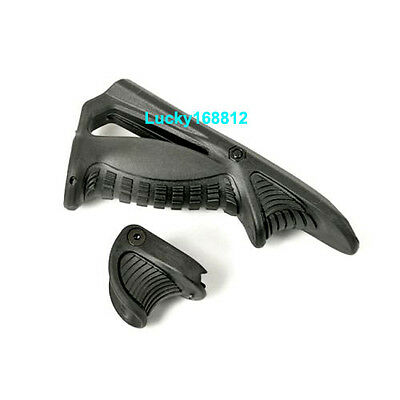 Tactical Ergonomic Forward Hand Stop Angled Foregrip Handle Grip For Rifle