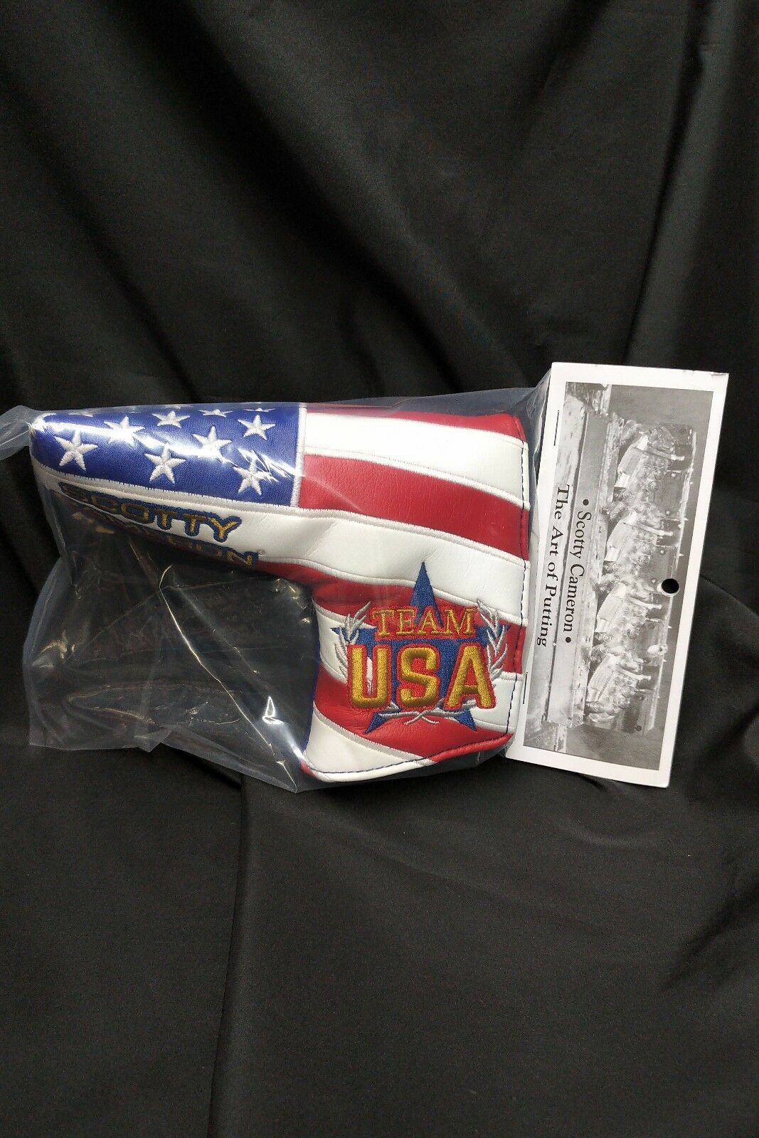 2018 Scotty Cameron Ryder Cup USA Europe Putter Cover
