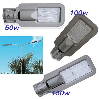 ARMATURA STRADALE FARO LED 50W 100W LAMPIONE PALO IP65 ESTERNO LUCE NATURALE
