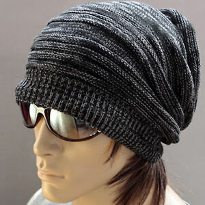 cool skullcap wool kniting beanie hipsters ski winter