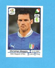 PANINI-EURO 2012-Figurina n.323- MAGGIO - ITALIA -NEW