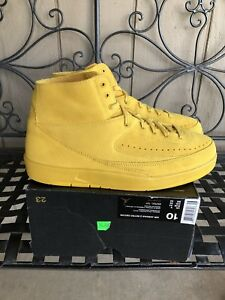 eea84704a4f7 2017 Nike Air Jordan 2 II Retro Decon QS Deconstructed Mineral Gold ...