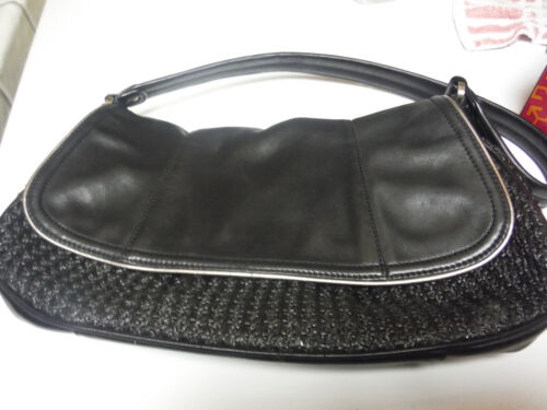 Purse Klein Leather Black Leather Calvin Calvin Purse Klein Calvin Black Klein Nwm8nOv0