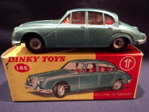 Dinky des années 1960 Daimler 2: 5 litres V8 No: 146 Neuf