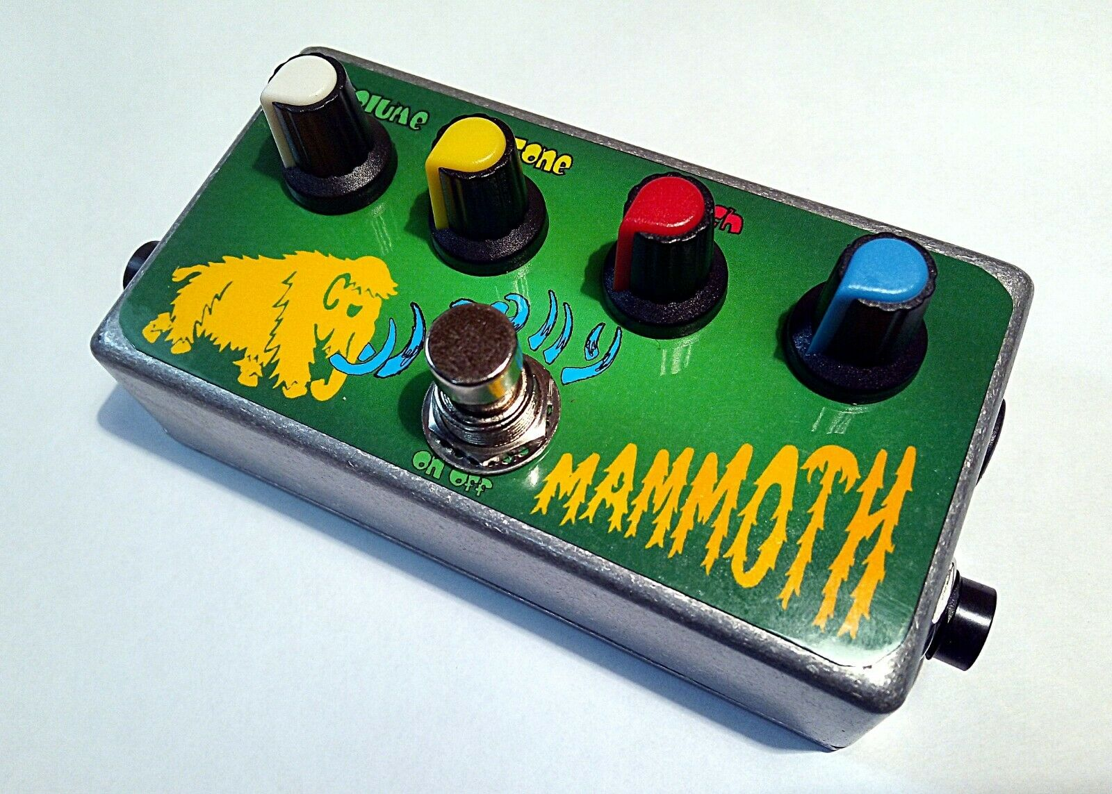 Woolly Mammoth Zvex Clone Fuzz Guitar\Bass pedal
