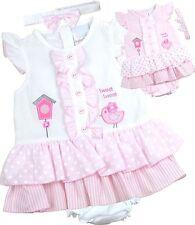 2cfbfa9042bfa BabyPrem Baby Girls Dresses Clothes 3 Piece Set Dress Headband   Pants 9 ...
