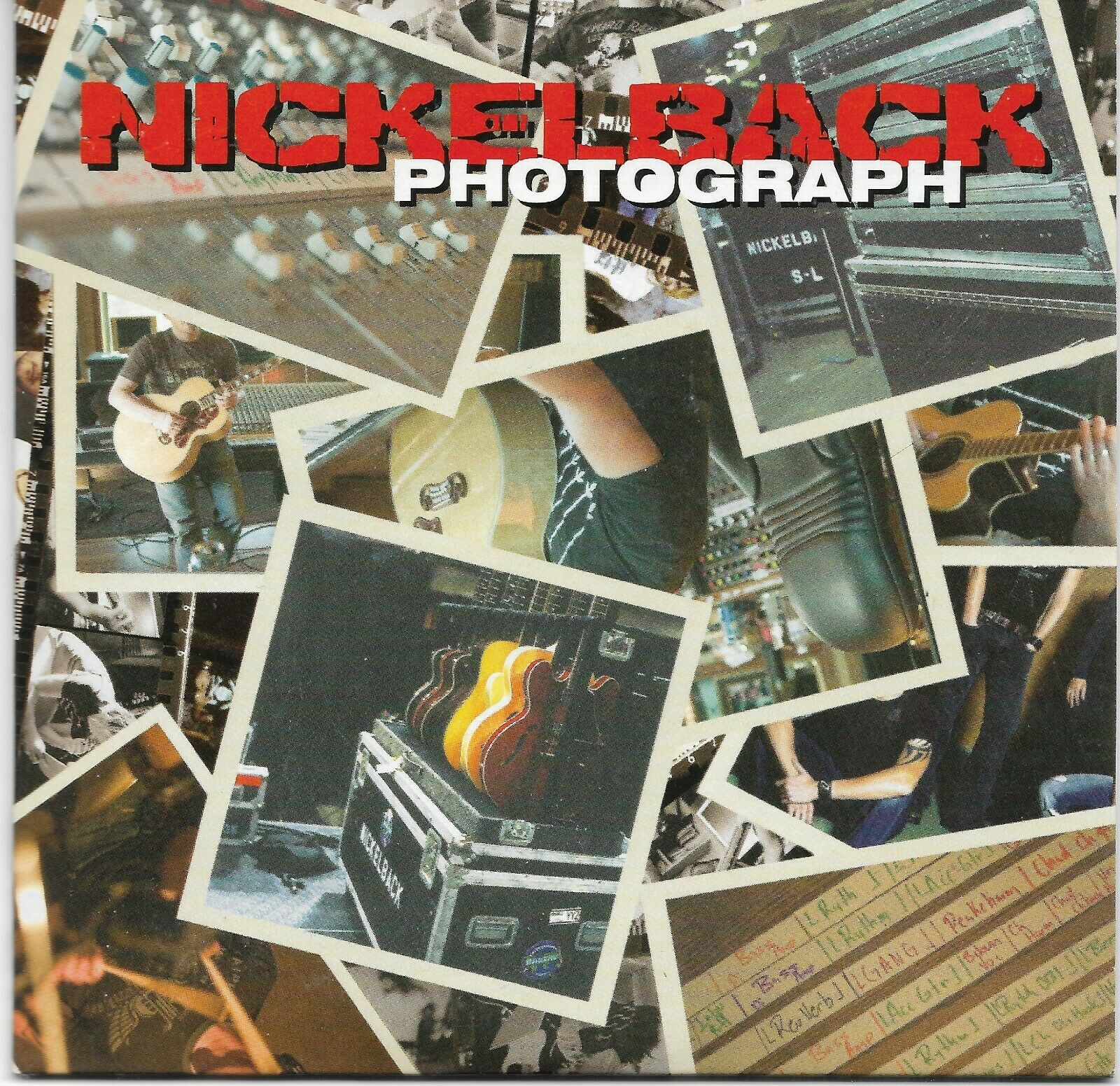 Image 1 - NICKELBACK -Photograph / We Will Rock You- 2 track CD Single Queen cover