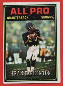 1974-Topps-129-Fran-Tarkenton-EX-EX-Minnesota-Vikings-HOF-AP-FREE-SHIPPING
