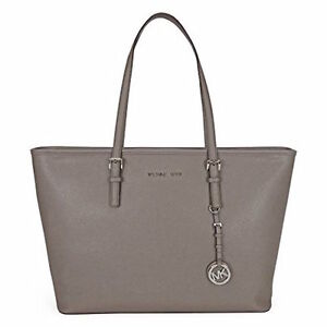 047b550b6e78 Michael Michael Kors Jet Set Travel ZIP Top Elephant Saffiano ...
