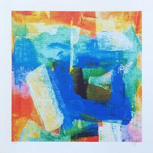 Grafiche-d-039-autore-firmate-a-mano-Lotto-di-2-composizioni-astratte-Stefano-Fiore