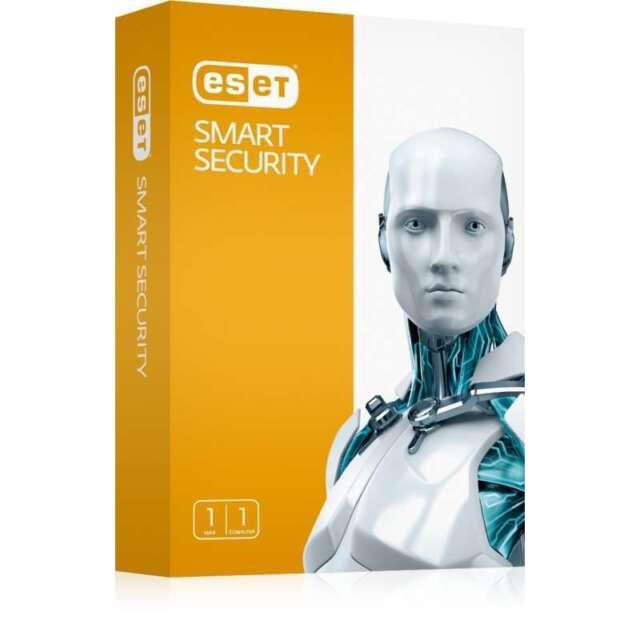 ESET Smart Security 10 1 PC 1 Anno 2018 Global Key Digital Download Fatturabile