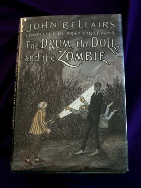 1st Edition THE DRUM, THE DOLL, AND THE ZOMBIE John Bellairs Strickland Gorey