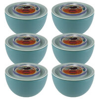 6 Aladdin Food Storage 20oz Bowls Containers Twist Lock Lids Leak Proof Airtight on sale