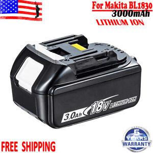 NEW-18V-3-0Ah-For-Makiat-BL1860-BL1850-BL1845-BL1840-BL1830-LXT-Lithium-Battery
