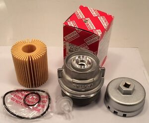 GENUINE TOYOTA Housing Cap Holder with TOYOTA Oil Filter ...
