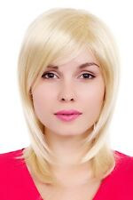 Perücke Wig Scheitel gestuft blond glatt GFW349A-613E