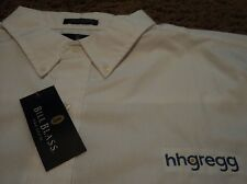 Mens ~ HHGREGG HH Gregg ~ Long Sleeve Oxford Dress Uniform Shirt ~ NWT XL