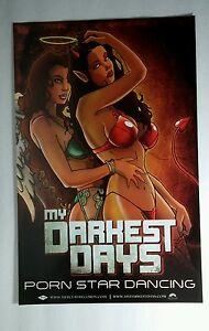 Image Is Loading My Darkest Days Porn Star Dancing Dbl Sided
