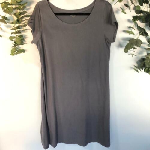 Eileen Fisher Organic Cotton Lycra Blue T Shirt Dr