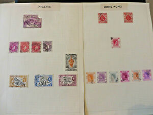 LOT-200-VINTAGE-POSTAGE-STAMPS-Various-Countries-Worldwide-British-Empire