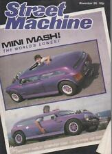 STREET MACHINE MAGAZINE  NOVEMBER 1985 VOL.7 NO.7  MINI MASH!    LS