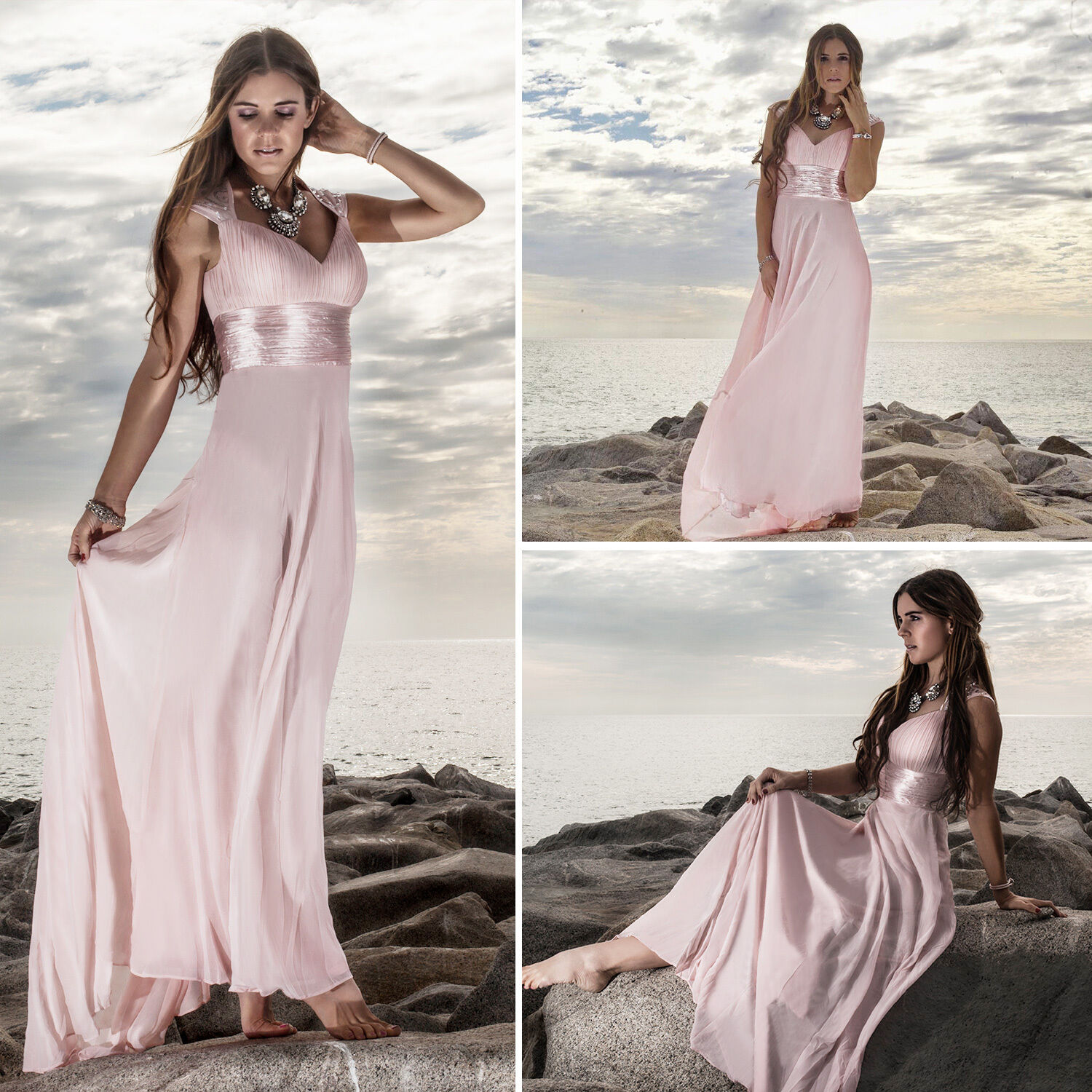 7db2ce3f65f7 Amazing Womens Bridesmaid Dresses Long Homecoming Evening Wedding Prom  Party Gown 09672 2017 2018