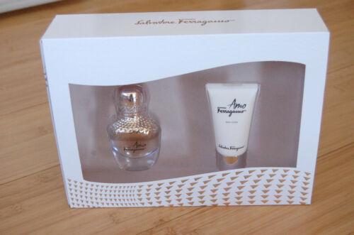 Salvatore Ferragamo Amo Parfüm Set 30 Ml   Body Lotion  g6g5j AuEUP