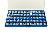 Polycarbonate Temporary Dental Crowns Box Kit 360 Pcs With Paper Guide Chart