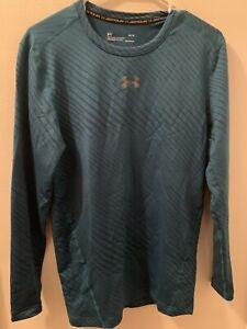 Under Armour UA NEW Mens ColdGear Gym Compression Baselayer Top Tee T Shirt